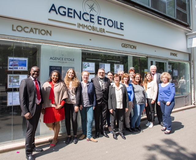 Agence Etoile Paris Magenta Léquipe Pour Le Service Immobilier