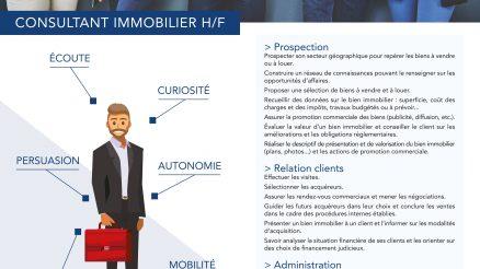 Recrutement consultant immobilier