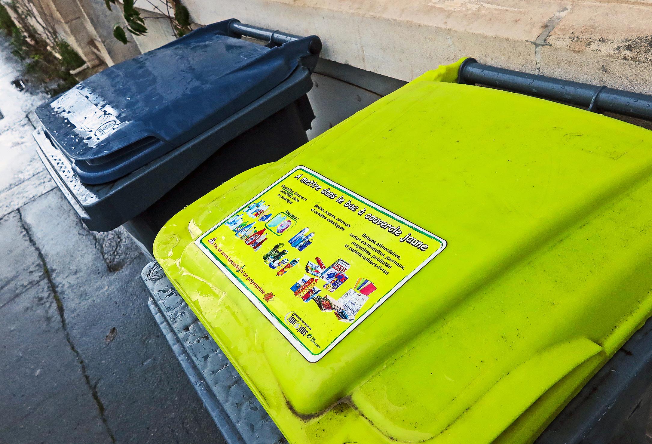 Tri sélectif des ordures ménagères