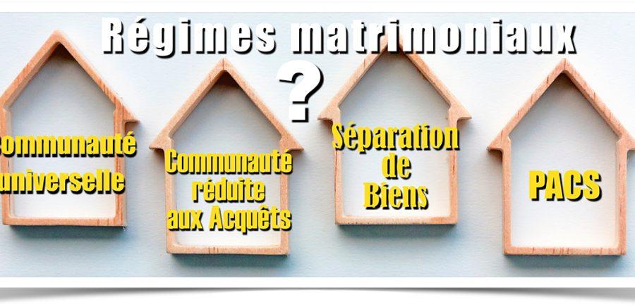 Régime matrimonial et immobilier