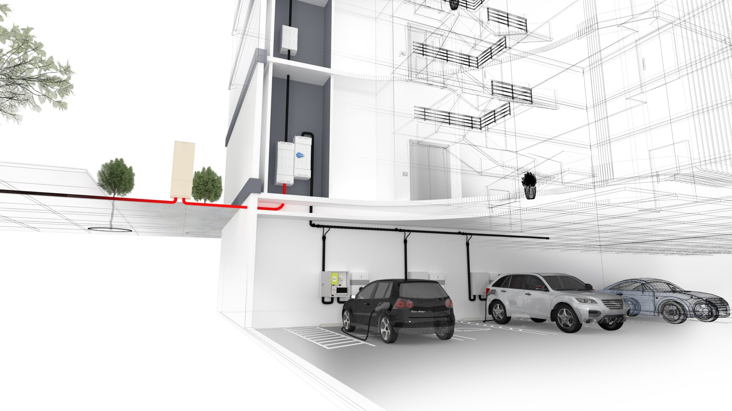Parkings : recharge des véhicules électriques